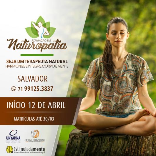Extensão em Naturopatia Salvador